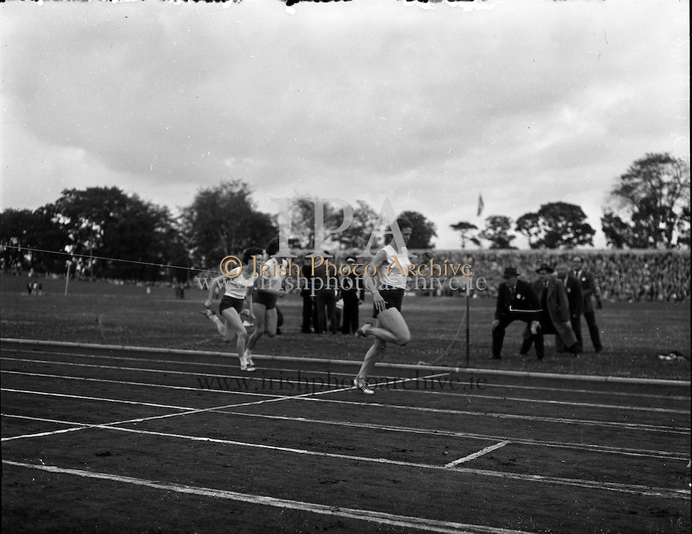 Athletics International at Santry.<br /> 17.07.1961