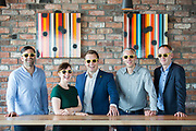No repro fee<br /> 15-6-2016<br /> HAILO PASSES 100,000 BUSINESS JOURNEYS IN IRELAND<br /> HAILO TO TARGET BUSINESS COMMUNITY AS IT GEARS UP FOR FURTHER<br /> GROWTH IN IRISH MARKET<br /> Picture shows from left Anthony Kelly, Founder, Glofox;Clare Dillon, StartUp Programme Lead, Microsoft; Niall Carson, Head of Sales, Hailo in Ireland;David Craig, Founder,Digital Design Studio; and Enda Gunnel, CEO, Pinergy; as Hailo, Ireland&rsquo;s leading transport app, has today announced that it has passed 100,000 journeys on its Hailo for Business platform in Ireland. The announcement was made at a Hailo/The Dean business breakfast this morning, which focused on scaling technology businesses in<br /> the Irish market.Pic:Naoise Culhane-no repro fee<br /> Hailo stated that it now has over 500 business accounts, including Twitter, HSBC, PTSB, Paddy Power,<br /> Morgan McKinley and Core Media. It said that 1 in 15 jobs on the Hailo network are now Hailo for<br /> Business jobs, highlighting the significance of the Hailo for Business service in the Irish market.<br /> Hailo said that one of the key pillars for growth in the Irish market in 2016 and beyond involves<br /> growth in the business travel sector. Hailo for Business was an obvious step for the company, which<br /> has been in the Irish market for nearly 4 years and has continued to grow rapidly in the consumer<br /> segment. Hailo now carries 45,000 passengers every day and has over 600,000 registered users. Hailo<br /> has completed over 13 million jobs since launch in 2012, carrying over 20 million passengers.<br /> Further info: Niall Carson,Head of Sales,e: niall.carson@hailocab.com, m: +353 (0) 877533888<br /> Pic:Naoise Culhane-no fee