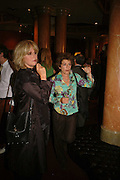 JOANNA LUMLEY AND SUZANNE BERTISH, Vanessa Redgrave and Thelma Holt host a reception at the<br />Theatre Museum in Russell Street (in Covent Garden) to campaign proposed move of museum out of the West End. Tuesday 16 May 2006ONE TIME USE ONLY - DO NOT ARCHIVE  © Copyright Photograph by Dafydd Jones 66 Stockwell Park Rd. London SW9 0DA Tel 020 7733 0108 www.dafjones.com