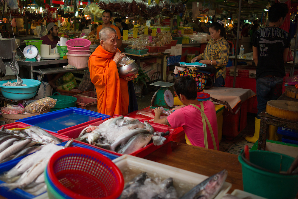 Morning Market, Klong Toey, Bangkok, Thailand