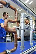 Ludwigshafen. 20.05.17 | BASF Tag der Ausbildung<br /> BASF Info Tag Ausbildung. Ausbildungsplätze können hier begutachtet werden.<br /> <br /> <br /> BILD- ID 0017 |<br /> Bild: Markus Prosswitz 20MAY17 / masterpress (Bild ist honorarpflichtig - No Model Release!)
