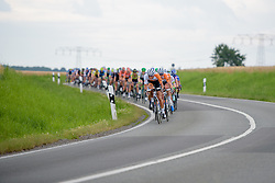 Rabo Liv have missed out on the break and are forced to chase at Thüringen Rundfarht 2016 - Stage 3 a 115km road race starting and finishing in Altenburg, Germany on 17th July 2016.