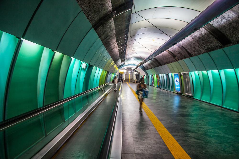 Rio de Janeiro Rio de Janeiro, works for new metro station.