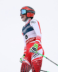 08.02.2019, WM Strecke, Aare, SWE, FIS Weltmeisterschaften Ski Alpin, alpine Kombination, Abfahrt, Damen, im Bild Ricarda Haaser (AUT) // Ricarda Haaser (AUT) reacts after the downhill competition of Alpine combination of the ladie's of FIS Ski World Championships 2019. WM Strecke in Aare, Sweden on 2019/02/08. EXPA Pictures © 2019, PhotoCredit: EXPA/ SM<br /> <br /> *****ATTENTION - OUT of GER*****