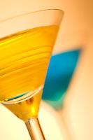 Golden Martini