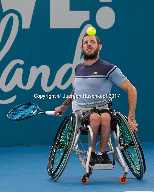 HEATH DAVIDSON (AUS), Rollstuhl Tennis<br /> <br /> Tennis - Brisbane International  2017 - ITF -  Pat Rafter Arena - Brisbane - QLD - Australia  - 7 January 2017. <br /> &copy; Juergen Hasenkopf