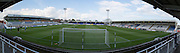 View of the ground before the Sky Bet League 2 match between Hartlepool United and Cambridge United at Victoria Park, Hartlepool, England on 19 September 2015. Photo by George Ledger.