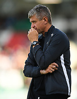 18 July 2019; SK Brann manager Lars Arne Nilsen ahead of the UEFA Europa League First Qualifying Round 2nd Leg match between Shamrock Rovers and SK Brann at Tallaght Stadium in Dublin. Photo by Eóin Noonan/Sportsfile
