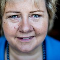 Erna Solberg by Chris Maluszynski