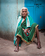 Street portrait, Chennai, India