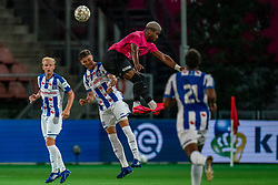 "Gyrano Kerk #7 of Utrecht in action. FC Utrecht convincingly won the practice match against sc Heerenveen. The ""Domstedelingen"" were too strong for SC Heerenveen in Stadium Galgenwaard with 4-1<br /> on August 20, 2020 in Utrecht, Netherlands"