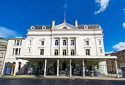 Exterior of Royal Lyceum Theatre in Edinburgh, Scotland, UK