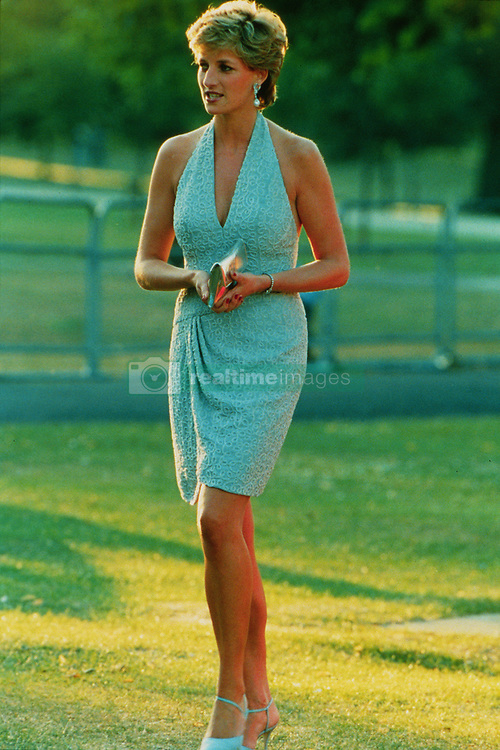 Princess Diana at The Vanity Fair fund raising gala held at the Serpentine Gallery.