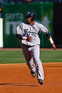 April 16, 2009:   #51 Luis Valbuena of the Columbus Clippers in action during the MiLB game between Columbus Clippers and Detroit Toledo Mudhens at Fifth Third Field in Toledo, Ohio. Columbus defeated the Mudhens 2-1. (Credit Image: © Rick Osentoski/Cal Sport Media)