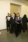 Sir Peter and Lady Blake. Ellsworth Kelly exhibition opening. Serpentine Gallery and afterwards at the River Cafe. London. 17 March 2006. ONE TIME USE ONLY - DO NOT ARCHIVE  © Copyright Photograph by Dafydd Jones 66 Stockwell Park Rd. London SW9 0DA Tel 020 7733 0108 www.dafjones.com
