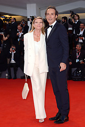 Alexandre Desplat and his wife Dominique LeMonnier attending the The Sisters Brothers Premiere as part of the 75th Venice International Film Festival (Mostra) in Venice, Italy on September 02, 2018. Photo by Aurore Marechal/ABACAPRESS.COM