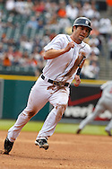 April 29, 2010:  Detroit Tigers' Scott Sizemore (20) during the MLB baseball game between the Minnesota Twins vs Detroit Tigers at  Comerica Park in Detroit, Michigan. Tigers defeated the Twins 3-0.