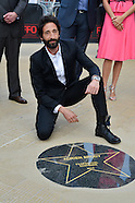 "Adrien Brody inaugurates his ""star"" at the Ostend Festival"