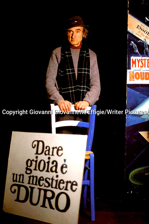 Guido Ceronetti<br /> <br /> <br /> 22/03/2002<br /> Copyright Giovanni Giovannetti/Effigie/Writer Pictures<br /> NO ITALY, NO AGENCY SALES