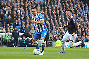Brighton central midfielder, Beram Kayal (7) during the Sky Bet Championship match between Brighton and Hove Albion and Derby County at the American Express Community Stadium, Brighton and Hove, England on 2 May 2016. Photo by Phil Duncan.