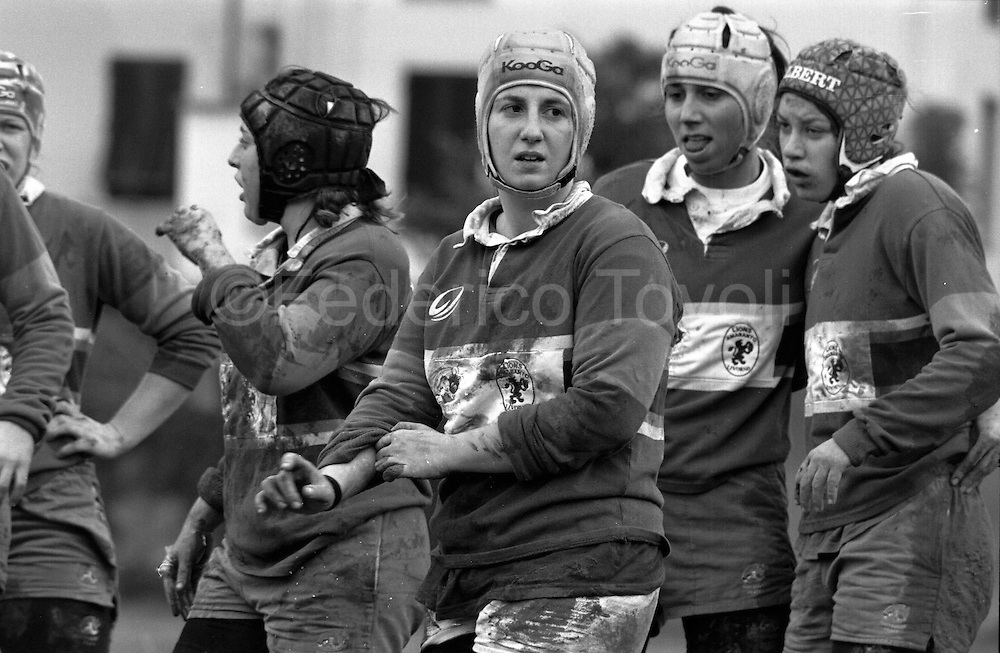 Women who play Rugby