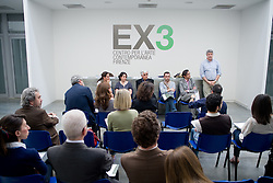 EX3 Center for Contemporary art in Florence - press conference<br /> MICHELANGELO CONSANI - DYNAMO<br /> winner project first edition of Premio EX3 Toscana Contemporanea 2010