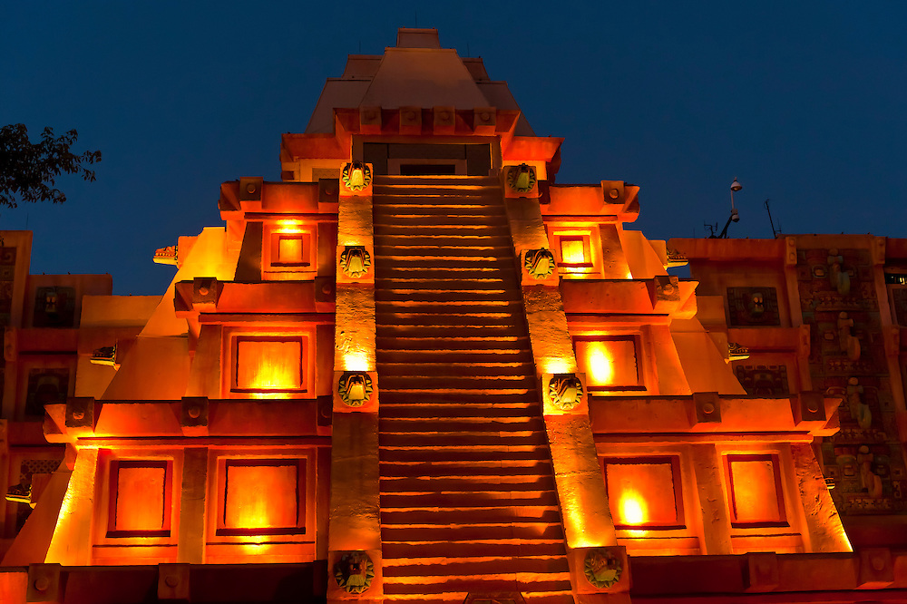 Mexico pavilion, World Showcase, Epcot, Walt Disney World, Orlando, Florida USA