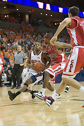 UVA defeated the #10 ranked Wildcats 93-90 in the first game at the new John Paul Jones Arena, in Charlottesville, VA on November 12, 2006...