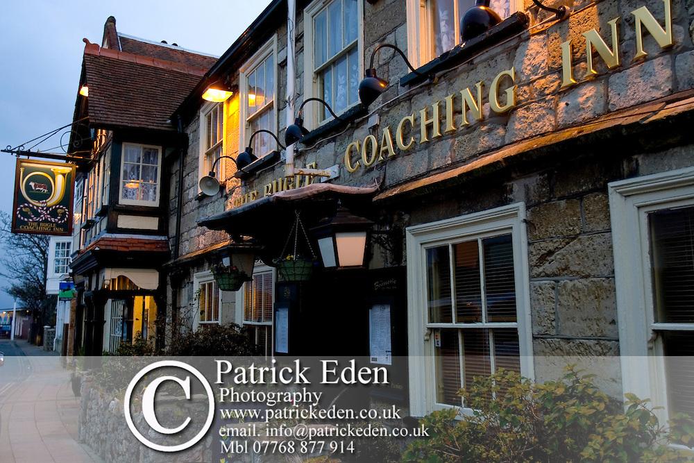 Yarmouth, Pub, Party Pub Bugle Inn, Restaurant Food, Isle of Wight, England, UK, West Wight Photographs of the Isle of Wight by photographer Patrick Eden photography photograph canvas canvases