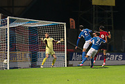 06/10/2017 - St Johnstone v Dundee - Dave Mackay testimonial at McDiarmid Park, Perth, Picture by David Young - Dundee's Sofien Moussa scores