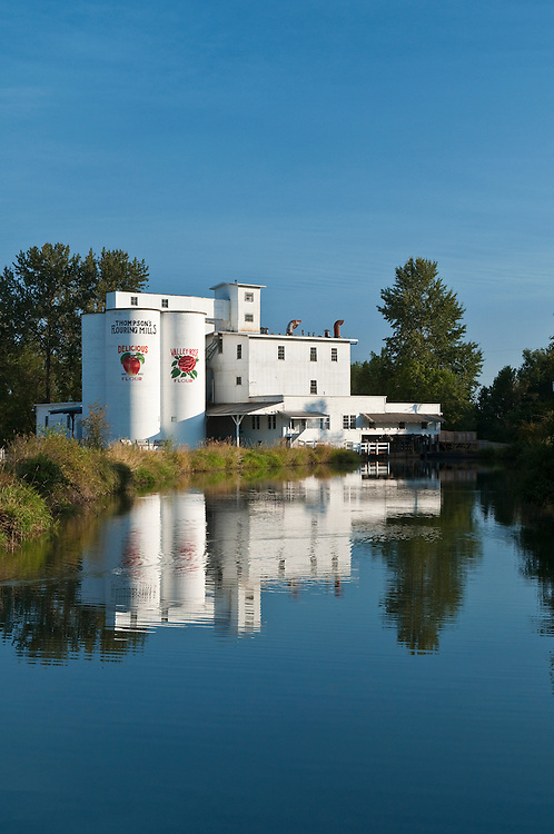 Thompson Mills State Heritage Site, Willamette Valley, Oregon.