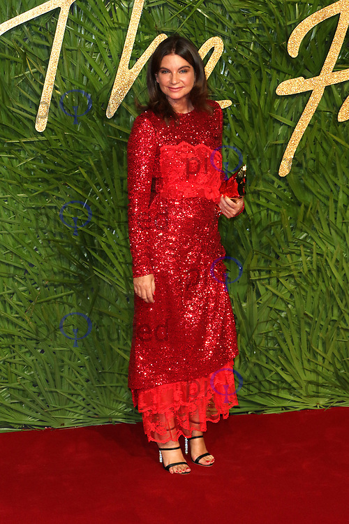 Natalie Massenet, The Fashion Awards 2017, The Royal Albert Hall, London UK, 04 December 2017, Photo by Richard Goldschmidt