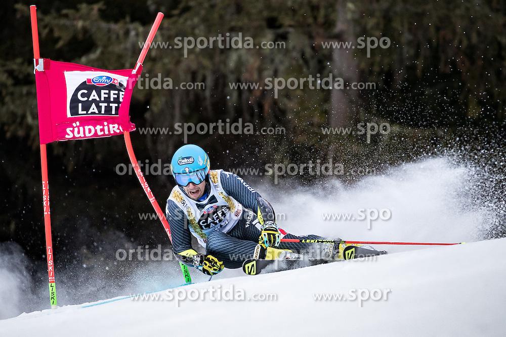 19.12.2016, Grand Risa, La Villa, ITA, FIS Ski Weltcup, Alta Badia, Riesenslalom, Herren, 1. Lauf, im Bild Luca De Aliprandini (ITA) // Luca De Aliprandini of Italy in action during 1st run of men's Giant Slalom of FIS ski alpine world cup at the Grand Risa race Course in La Villa, Italy on 2016/12/19. EXPA Pictures © 2016, PhotoCredit: EXPA/ Johann Groder