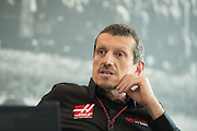 December 11, 2015: Guenther Steiner, Haas F1 Team Principle