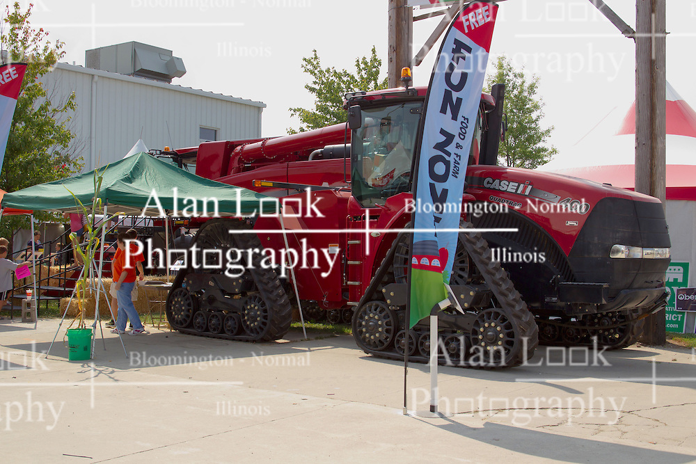 01 August 2014:   McLean County Fair. 2015 Case IH 400 Quadtrac