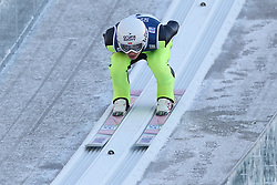 November 19, 2017 - Wisla, Poland - Jakub Wolny (POL), competes in the individual competition during the FIS Ski Jumping World Cup on November 19, 2017 in Wisla, Poland. (Credit Image: © Foto Olimpik/NurPhoto via ZUMA Press)