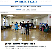 German editorial internet publication of an Oote Boe photo - January 13 2019