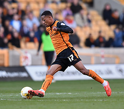 Wolves' Rajiv Van La Parra in action during the Sky Bet Championship match between Wolverhampton Wanderers and Watford at Molineux Stadium on 7 March 2015 in Wolverhampton, England - Photo mandatory by-line: Paul Knight/JMP - Mobile: 07966 386802 - 07/03/2015 - SPORT - Football - Wolverhampton - Molineux Stadium - Wolverhampton Wanderers v Watford - Sky Bet Championship