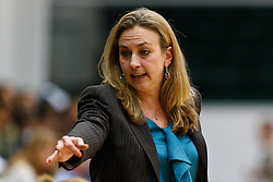 Dec 7, 2011; San Francisco CA, USA;  Florida Gators head coach Amanda Butler on the sidelines against the San Francisco Lady Dons during the first half at War Memorial Gym.  Florida defeated San Francisco 91-68. Mandatory Credit: Jason O. Watson-US PRESSWIRE