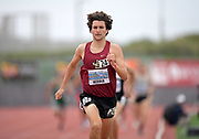 Apr 19, 2019; Torrance, CA, USA; Peter Herold of JSerra wins the boys mile in 4:13.58 during the 61st Mt. San Antonio College Relays at El Camino College.