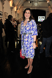 KIRSTIE ALLSOPP at The Special Yoga Centre's annual art auction held at the 20th Century Theatre, 291 Westbourne Grove, London W11 on 16th May 2011.