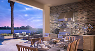 Toll Brothers Lakeshore community, outdoor living, photo by Roberto Gonzalez