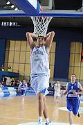 Bari, 08/08/2010<br /> Eurobasket men 2011 Qualifying Round<br /> Italia - Finalndia<br /> Nella foto: stefano mancinelli<br /> Foto Ciamillo