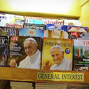 Papa Francesco è sulle copertina delle principali riviste degli States.