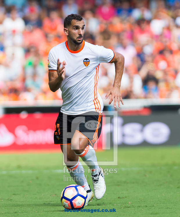 Martin Montoya of Valencia CF during the La Liga match at Mestalla, Valencia<br /> Picture by Maria Jose Segovia/Focus Images Ltd +34 660052291<br /> 02/10/2016
