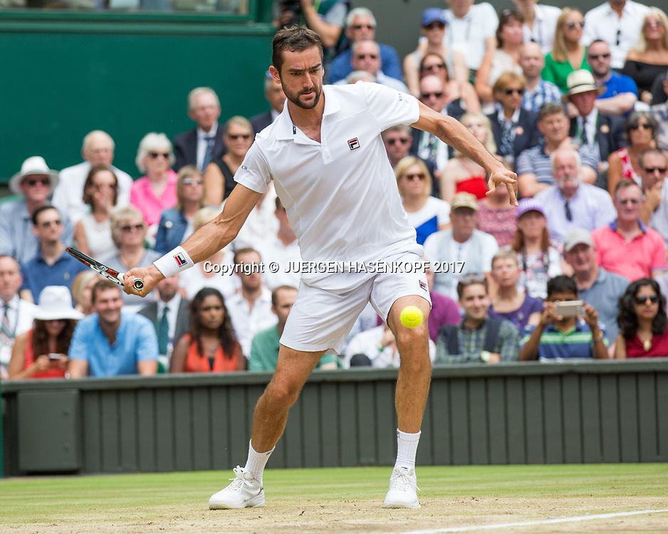 MARIN CILIC (CRO), Endspiel, Final<br /> <br /> Tennis - Wimbledon 2016 - Grand Slam ITF / ATP / WTA -  AELTC - London -  - Great Britain  - 16 July 2017.