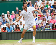 MARIN CILIC (CRO), Endspiel, Final<br /> <br /> Tennis - Wimbledon 2016 - Grand Slam ITF / ATP / WTA -  AELTC - London -  - Great Britain  - 16 July 2017.