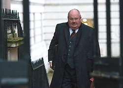 © Licensed to London News Pictures. 18/11/2014. Westminster, UK . Eric Pickles MP, Secretary of State for Communities and Local Government . Ministers and MP's on Downing Street 18th November 2014. Photo credit : Stephen Simpson/LNP