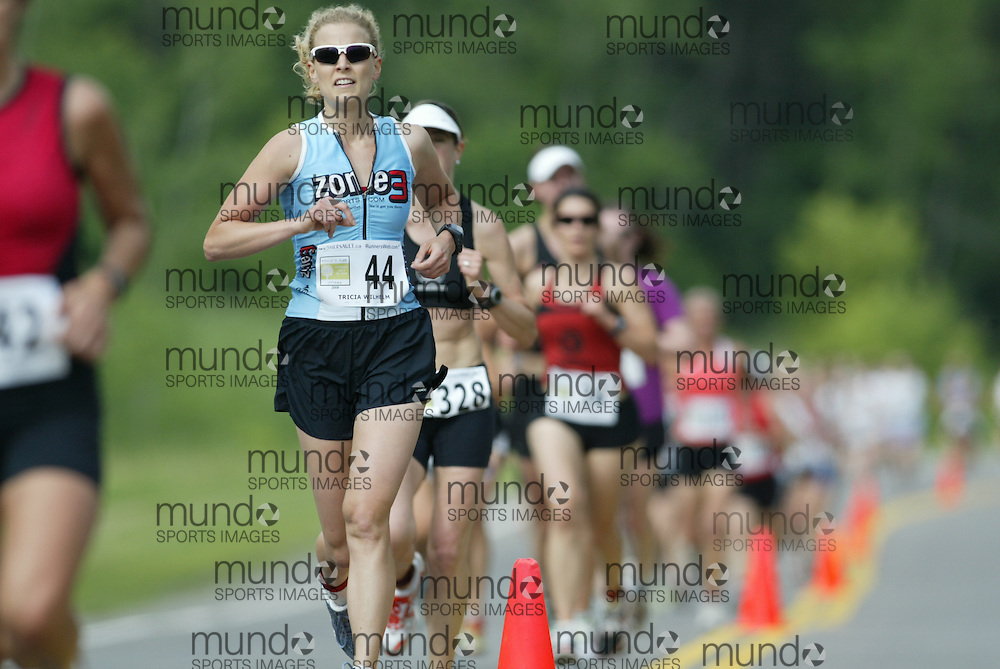 (Ottawa, Ontario---20/06/09)    TRICIA WILHELM competing in the 2009 edition of Emilie's Run 5km race for women in Ottawa. Copyright photograph Sean Burges / Mundo Sport Images, 2009. www.mundosportimages.com / www.msievents.