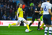 Luke Ayling of Leeds United (2) in action during the EFL Sky Bet Championship match between Preston North End and Leeds United at Deepdale, Preston, England on 9 April 2019.